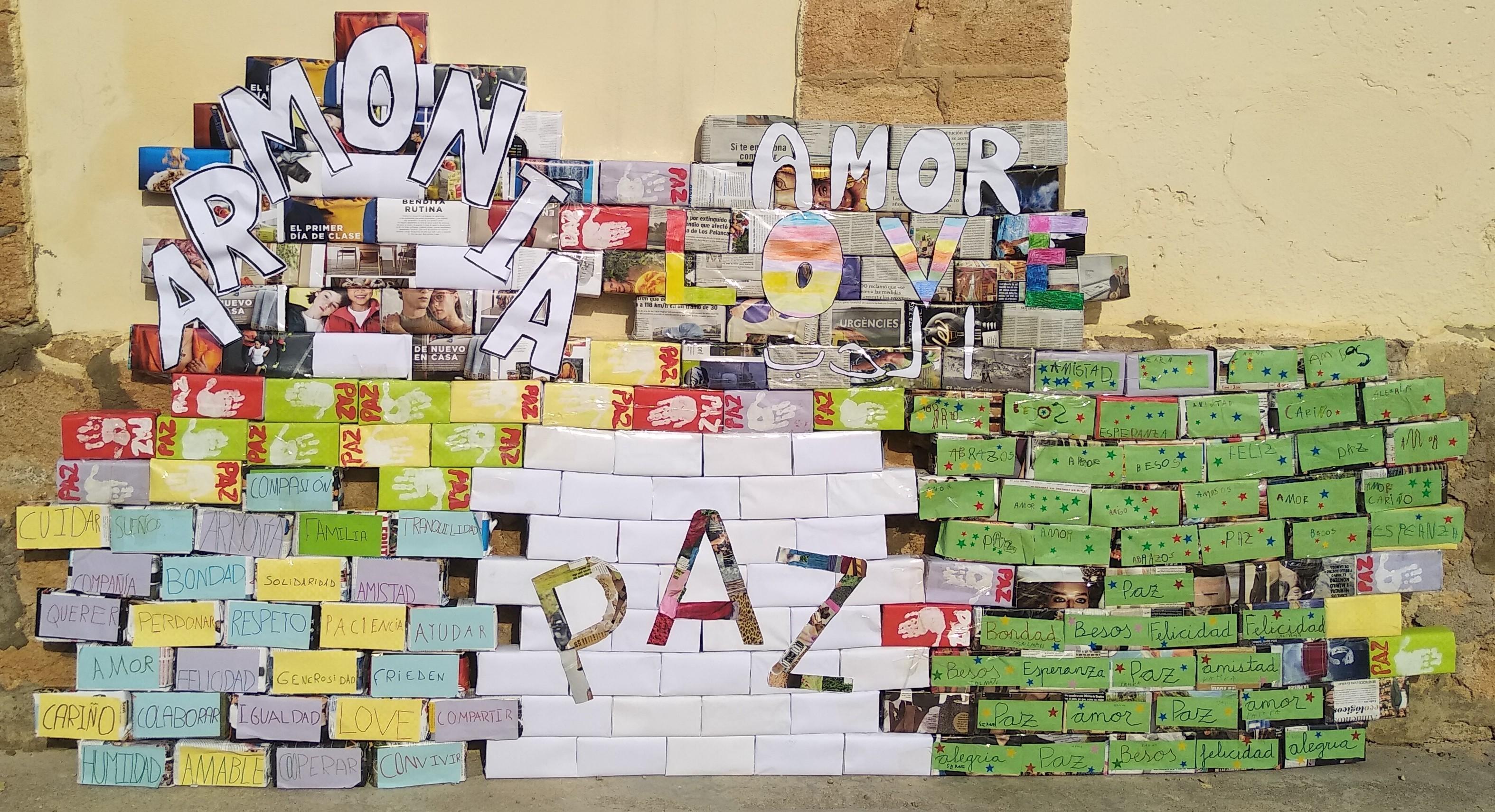 Día De La Paz Ceip Pablo Picasso Bonete Albacete